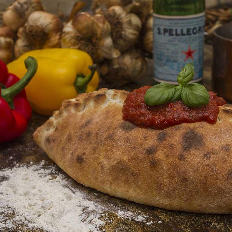 Stefanos Pizza Nørrebro og Østerbro Pizza Calzone Indbagt