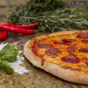 Stefanos Pizza Nørrebro og Østerbro Pizza Pepperoni