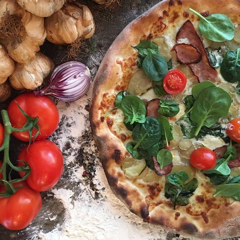Stefanos Pizza Nørrebro og Østerbro Pizza Potato