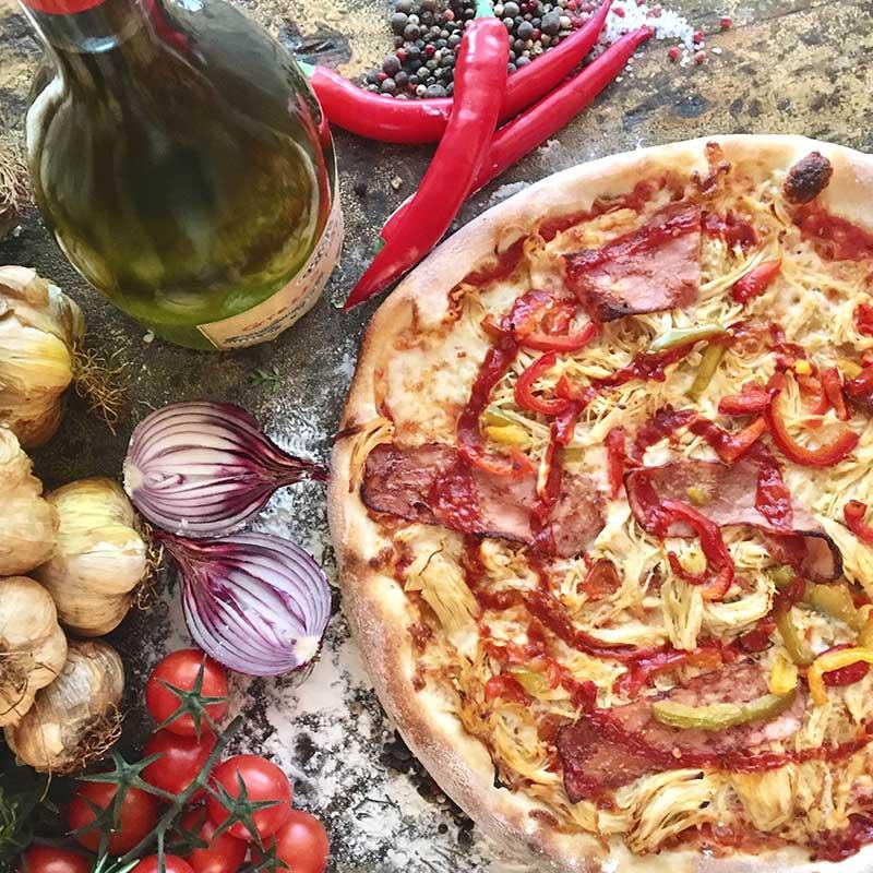 Stefanos Pizza Nørrebro og Østerbro Pizza Sinos