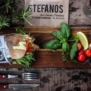 Stefanos Pizza Nørrebro og Østerbro Sandwich Kylling