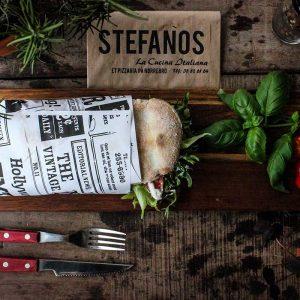 Stefanos Pizza Nørrebro og Østerbro Sandwich Lammekød